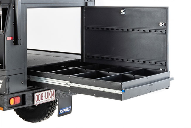 REAR DRAWER with Divider