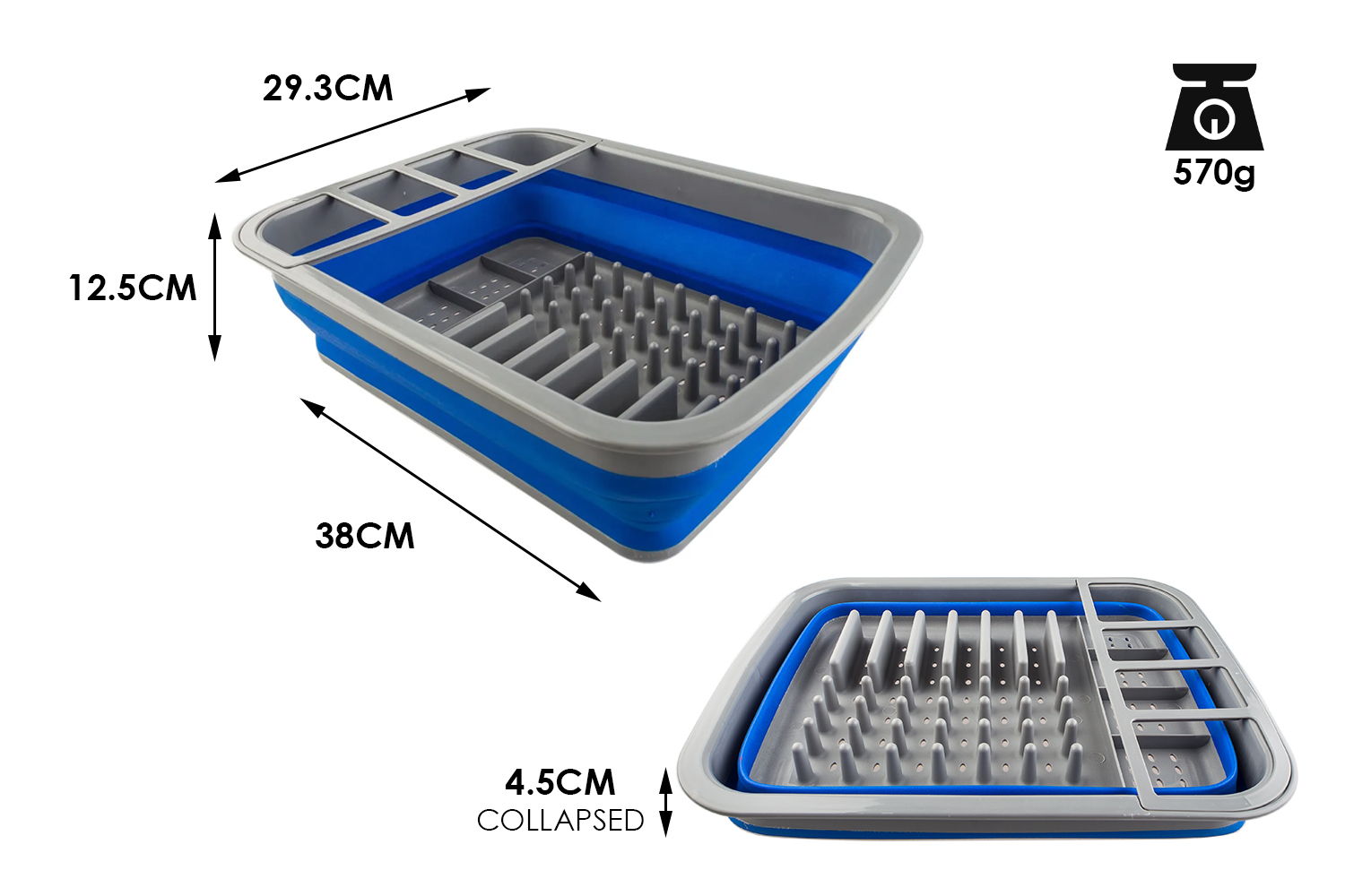 Adventure Kings Collapsible Dish Rack