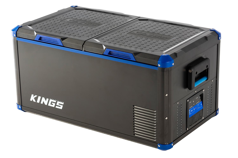 Adventure Kings 90L Stayzcool Dual Zone Fridge / Freezer