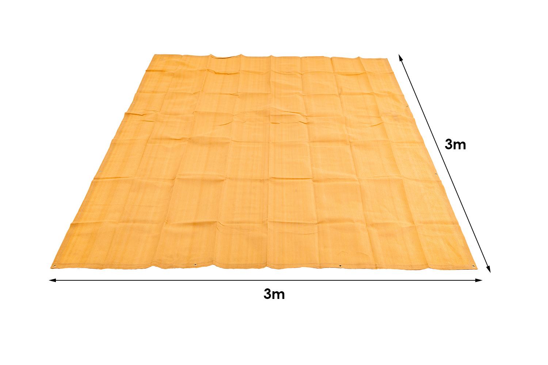 Mesh Flooring 3m x 3m - High-Density Weave   Camping   Adventure Kings