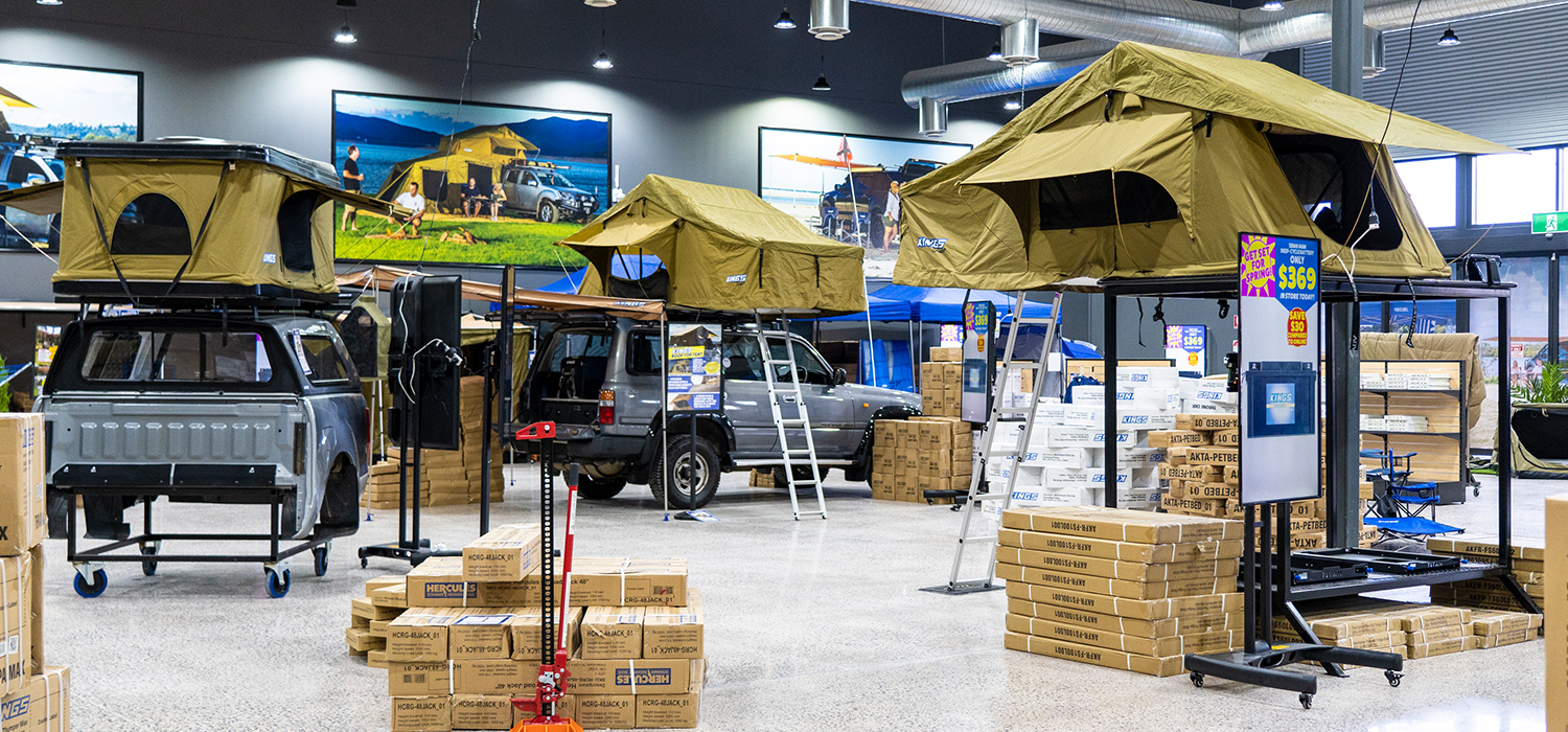 Adventure Kings 4WD Supacentre ACT Canberra Store
