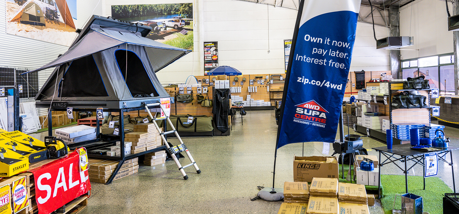 Adventure Kings 4WD Supacentre NSW Newcastle Store